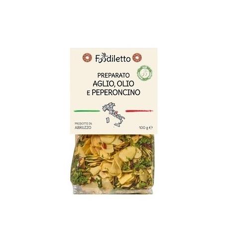 Foodiletto Mélange Ail Huile Piment